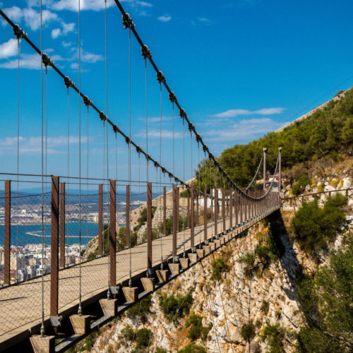 Windsor Suspension Bridge Gibraltar