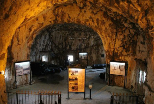 World War Ii Tunnels Gibraltar
