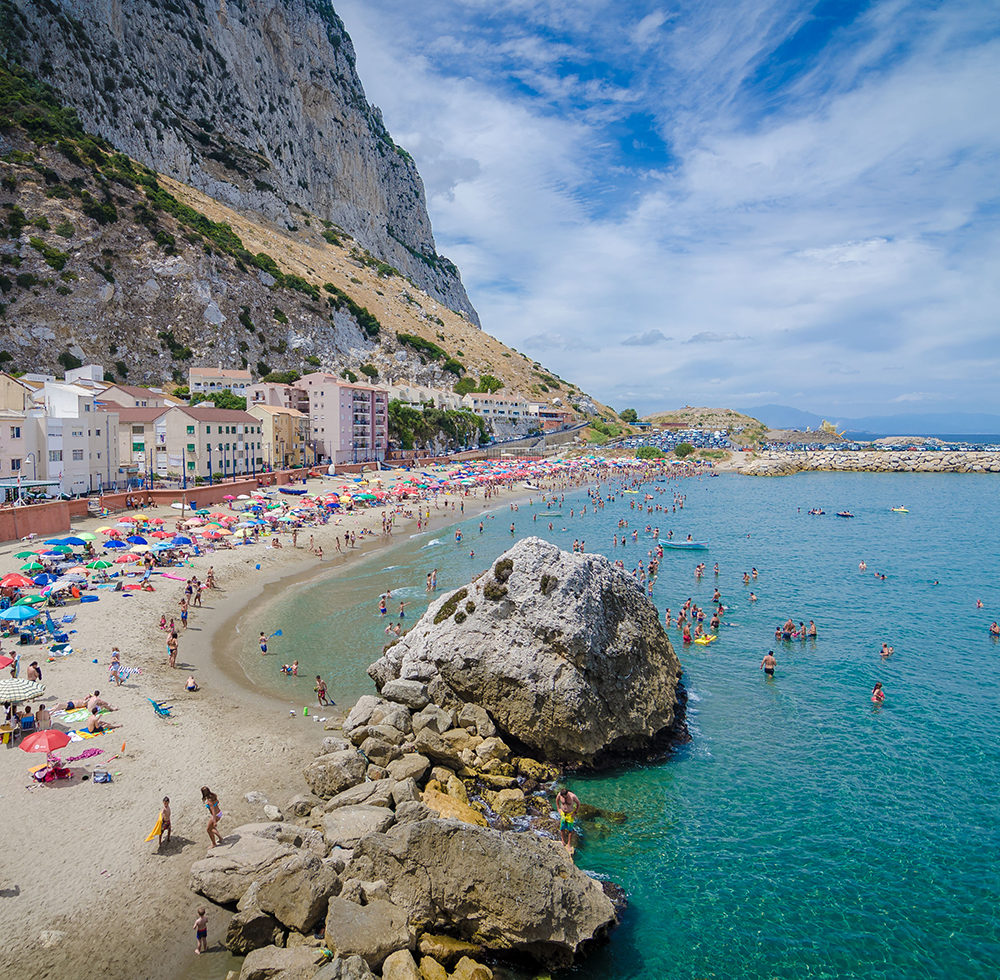 Gibraltar Catalan Bay