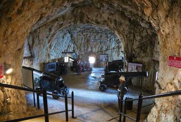 Gibraltar Great Seige Tunnels