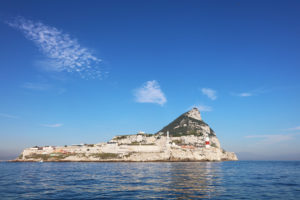 Gibraltar From The Sea