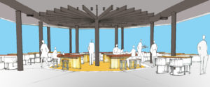 Cable Car Project Cafe Artist Impression East