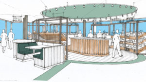 Cable Car Project Cafe Artist Impression North
