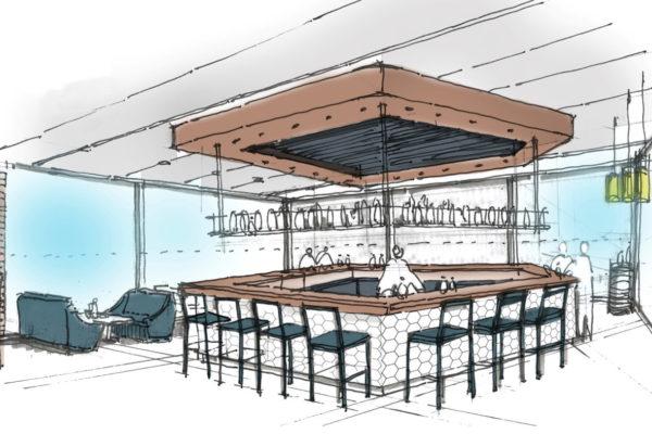 Cable Car Project Restaurant Bar Artist Impression