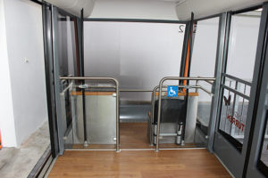 Gibraltar Cable Car Accessibile Cabins
