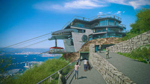 Gibraltar Cable Car Project Upper Station South Web