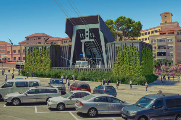 Gibraltar Cable Car Project Lower Station Web